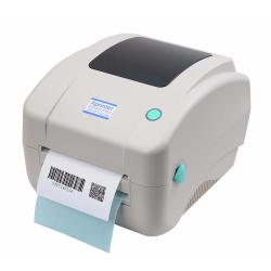 Εκτυπωτής Barcode, Xprinter, XP-DT425B, Thermodirect, Λευκό - 71205