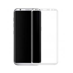 Πλήρες προστατευτικό γυαλί, No Brand, Για Samsung Galaxy S8, 0.3mm, λευκός - 52288
