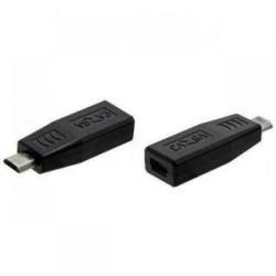προσαρμογέας ανιχνεύσει Micro USB Μ σε Micro USB F, Μαύρο - 17135
