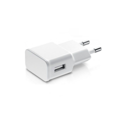 Φορτιστής δικτύου, No brand, 5V / 2A, 220V, Universal, 1 x USB, λευκό - 14858