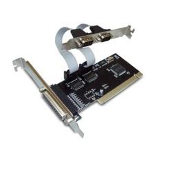 κάρτα για τον υπολογιστή PCI to Serial + Parallel port, No brand - 17470