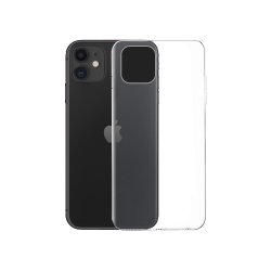 Θήκη σιλικόνης No brand, για το Apple iPhone 11, Slim, Διαφανής - 51698