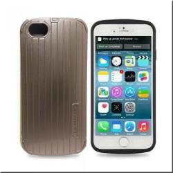 Προστατευτικό για το κινητό τηλέφωνο No brand για το iPhone 6 Plus, Πλαστικά, Gold - 51204