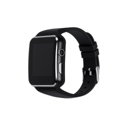 Έξυπνο ρολόι No brand X6, Μαύρο - 73020