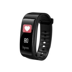 Smart bracelet No brand Y3 Plus, 22mm, Bluetooth handsfree, IP52, Μαυρο - 73046
