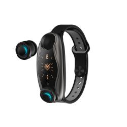 Smartwatch No brand T89, 26mm, Bluetooth, Earphones, IP67, Διαφορετικά χρώματα - 73030