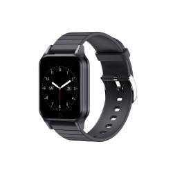 Smartwatch No brand T96, 33mm, Bluetooth, IP67, Μαυρο - 73033